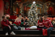 Watch Mark Ronson, Miley Cyrus, & Matt Damon Exchange Secret Santa Gifts