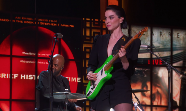 Watch St. Vincent, Cyndi Lauper, Kelly Clarkson, & More Perform At Kennedy Center Honors