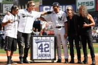 Watch Metallica Congratulate Mariano Rivera On Joining The Baseball Hall Of Fame