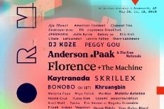 FORM Arcosanti 2019 Lineup