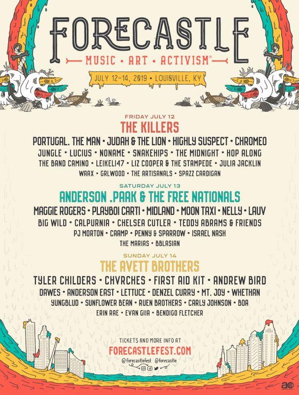 Forecastle Festival 2019 Lineup Stereogum
