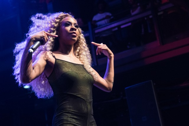 Rico Nasty (Maria-Cecilia Simone Kelly ) performs Tuesday evening at the Fillmore Silver Spring.