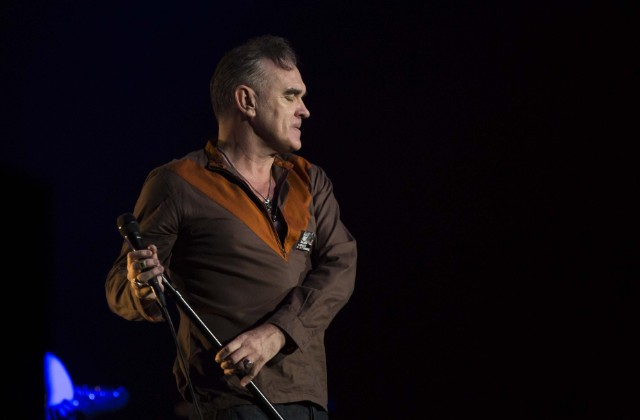 Morrissey gives concert in Istanbul