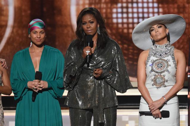 Michelle-Obama-Grammys