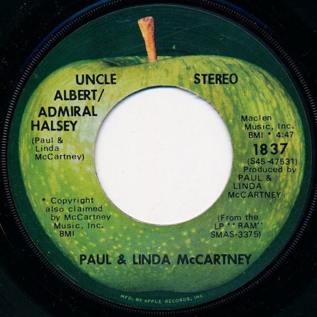 "The Number Ones: Paul & Linda McCartney's ""Uncle Albert/Admiral ..."
