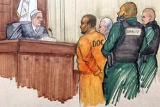 R. Kelly courtroom sketch