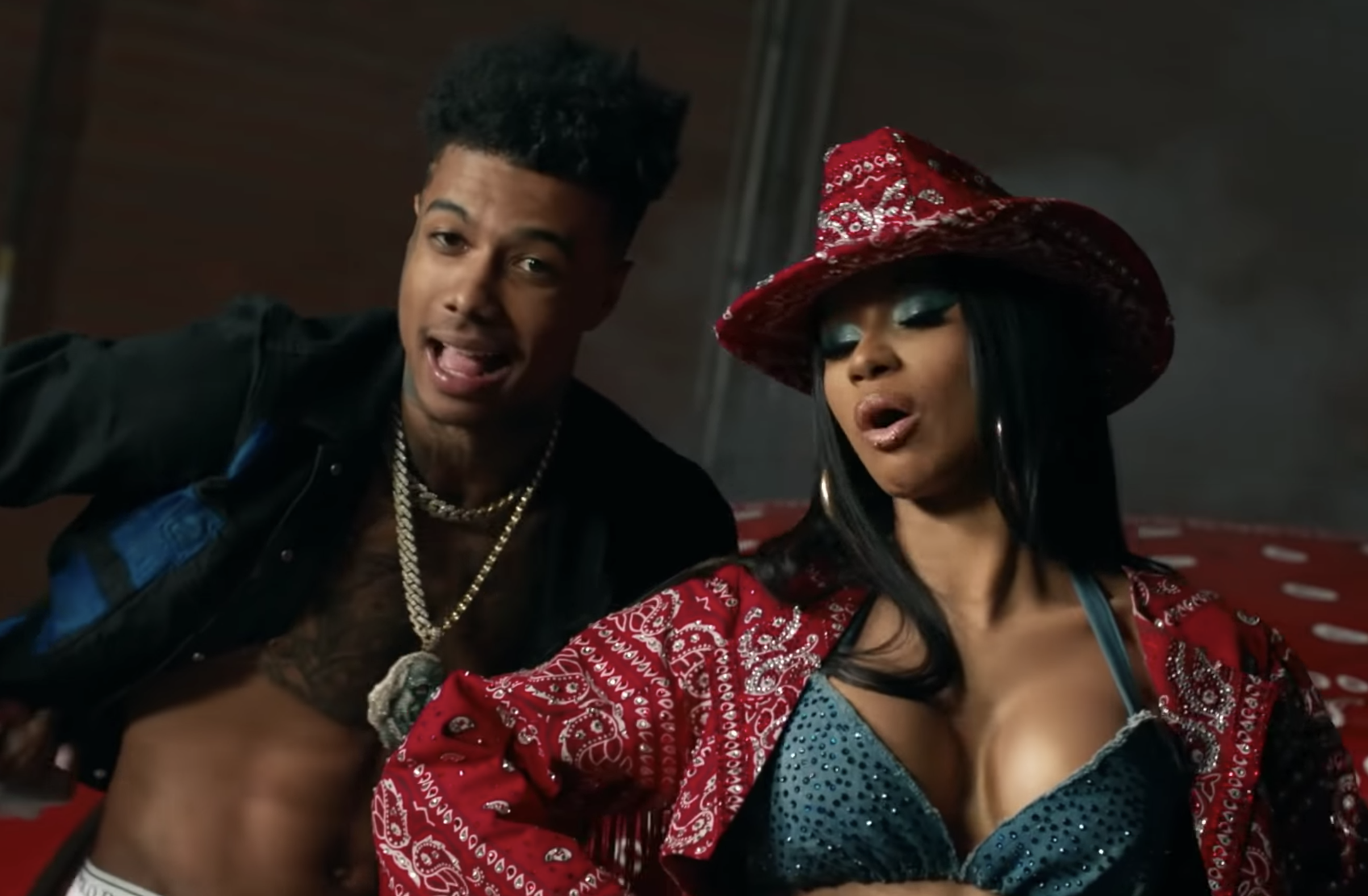 Cardi B Teams Up With Blueface For