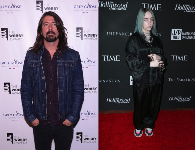 Dave Grohl Has Compared Billie Eilish To Nirvana In 1991