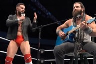 "Watch WWE Wrestlers Elias & Finn Bálor Cover Bradley Cooper & Lady Gaga's ""Shallow"""