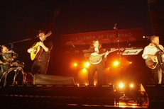 Mumford And Sons Performs In Auckland