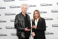 TimesTalks Featuring Jim Jarmusch And Iggy Pop
