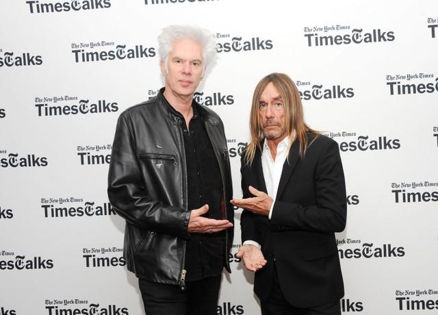 TimesTalks Featuring Jim Jarmusch And Iggy Pop