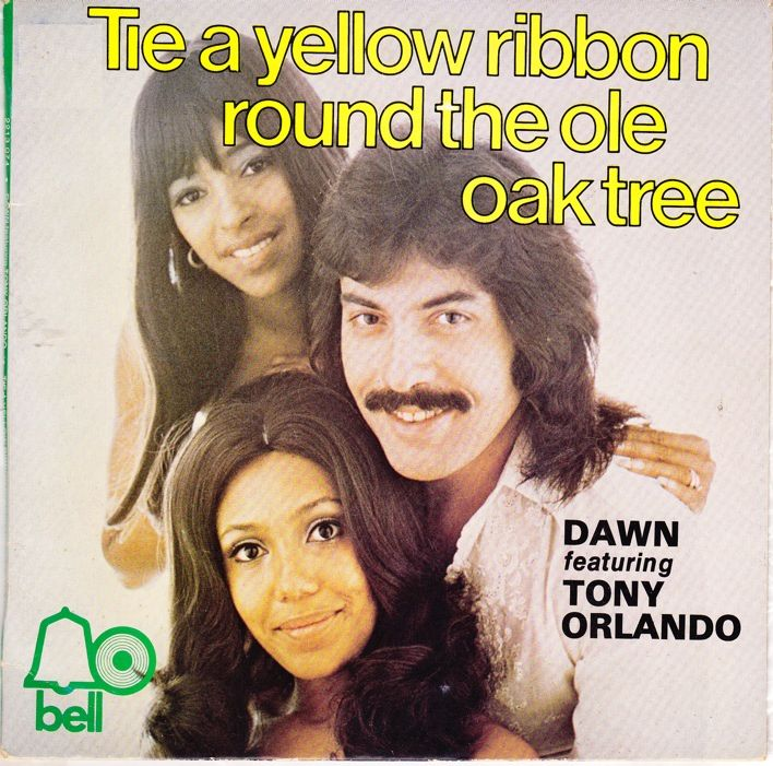 """The Number Ones: Tony Orlando & Dawn's """"Tie A Yellow Ribbon Round The Ole  Oak Tree"""""""