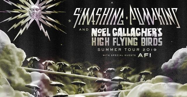 Smashing Pumpkins Noel Gallagher Tour