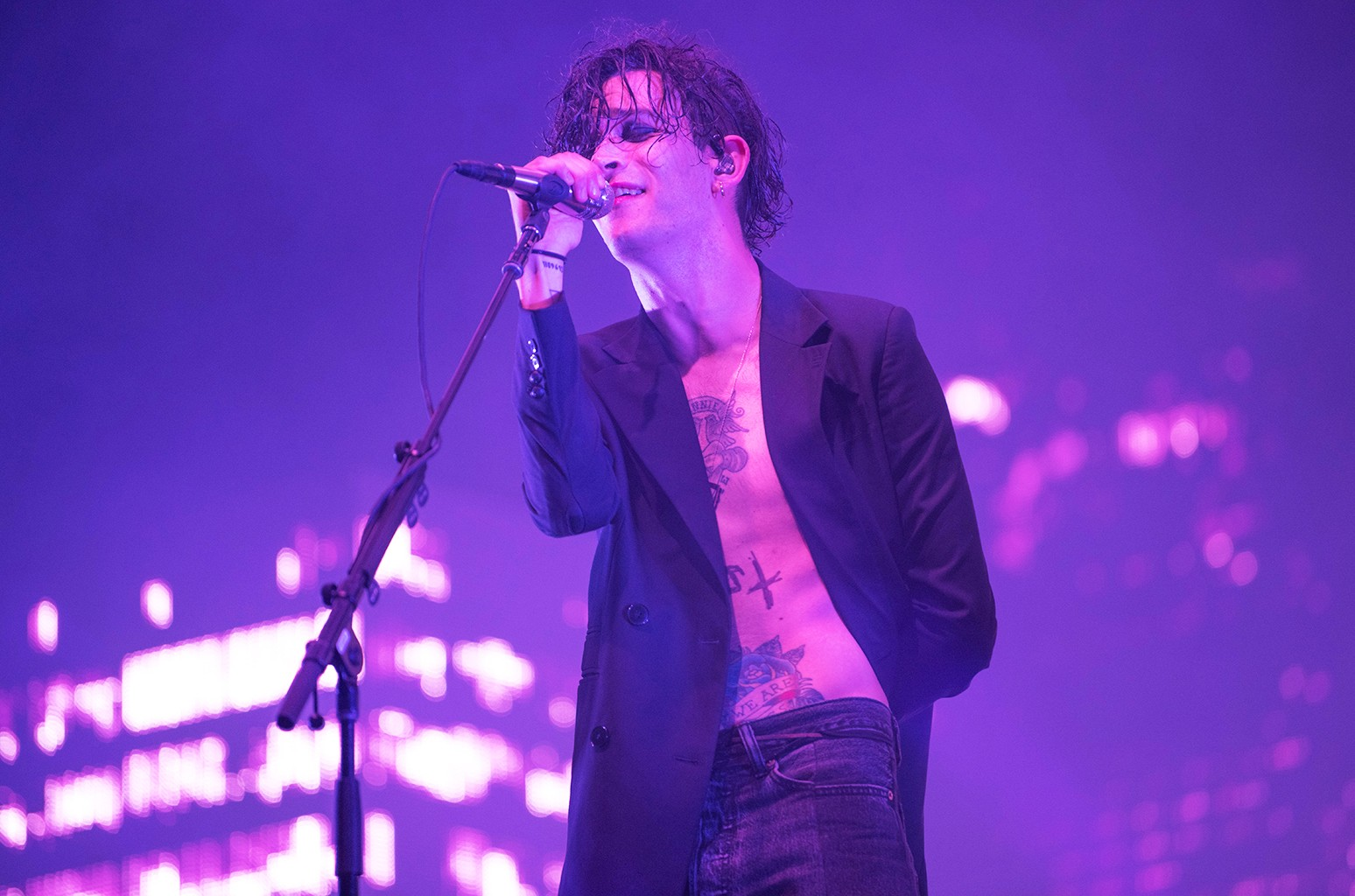 Matty Healy's had a 'couple of relapses' since beating his heroin addiction