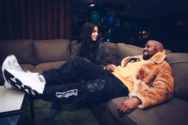Kanye West's Kids Pranked Him By Pretending Kim Kardashian