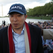 "Andrew Yang Aims To Be ""First Ex-Goth President"""