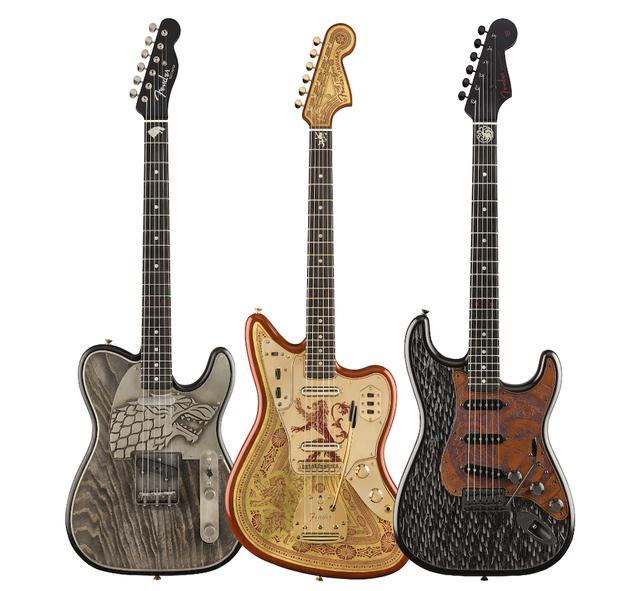 39 game of thrones 39 fender guitars are coming stereogum. Black Bedroom Furniture Sets. Home Design Ideas