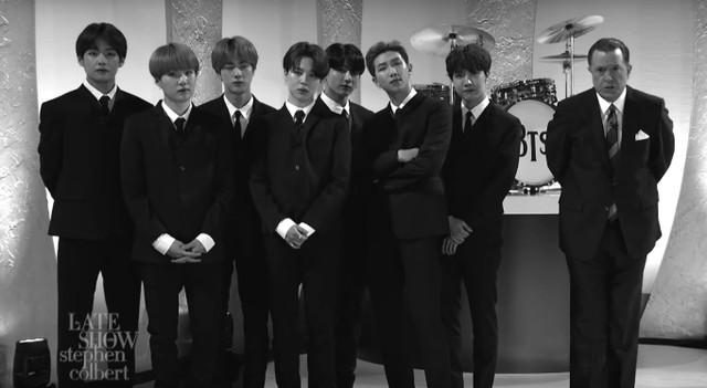 BTS Bring Back Beatlemania & Perform