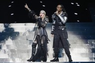 Watch Madonna's Controversial Eurovision Performance
