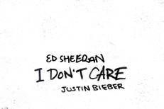 "Ed Sheeran & Justin Bieber - ""I Don't Care"""