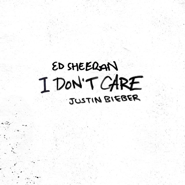 'I don't care': Justin Bieber and Ed Sheeran release song together