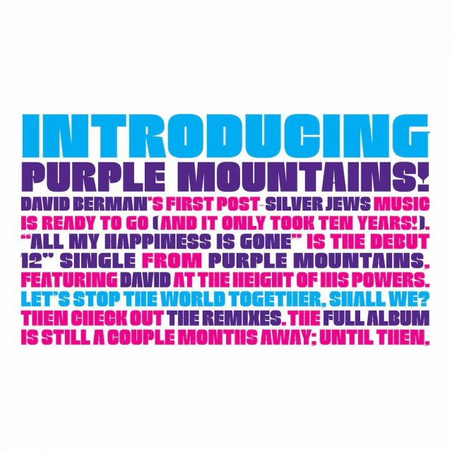 Introducing Purple Mountains