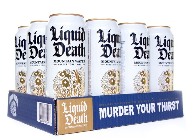 Liquid Death Is Canned Water For Straight-Edge Punks - Stereogum