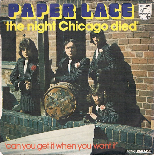 "The Number Ones: Paper Lace's ""The Night Chicago Died"" - Stereogum"