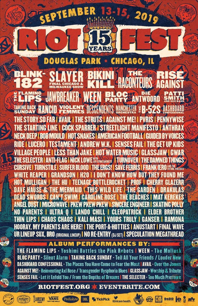 Image result for RIOT FEST 2019