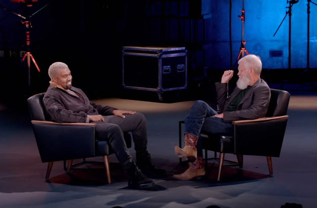 Kanye Introduces Letterman To Yeezy In 'My Guest Needs No