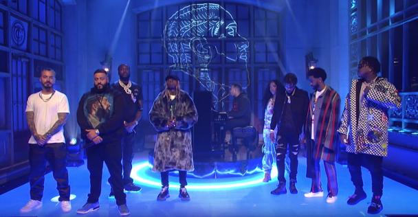 DJ Khaled Performs With SZA, Lil Wayne, J Balvin, More On 'SNL': Watch