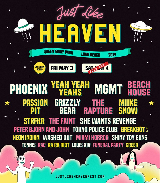 Just Like Heaven Festival Review: Phoenix, Yeah Yeah Yeahs, MGMT