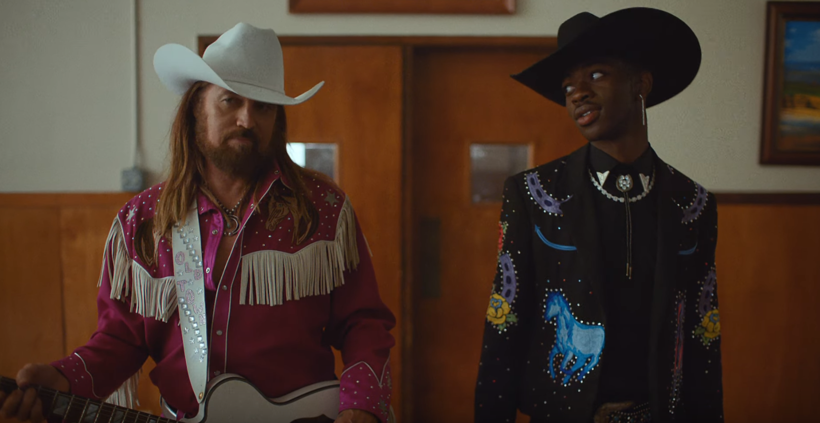 Lil Nas X & Billy Ray Cyrus Share