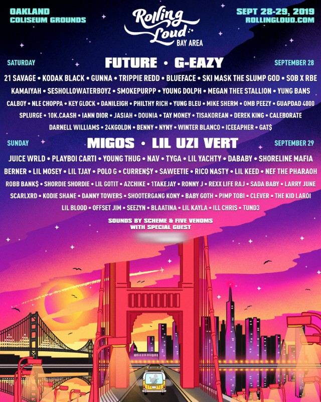 Rolling Loud Bay Area 2019 Lineup Announced - Stereogum