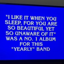 The 1975 & FJM Questions Stump Jeopardy!'s Teens