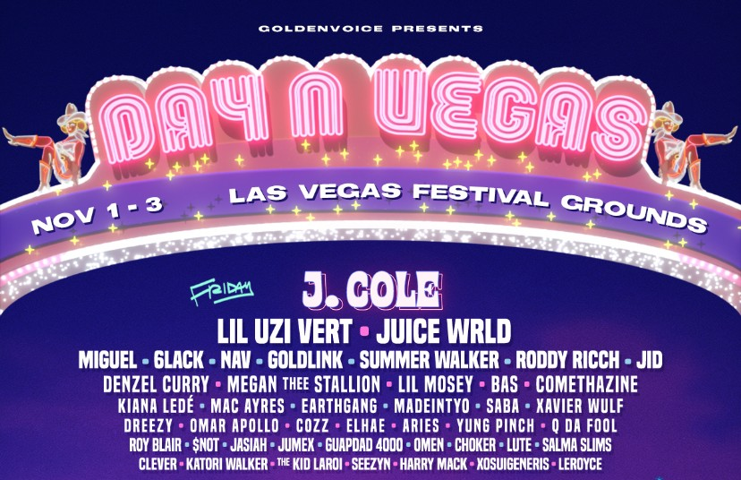 Day N Vegas 2019 Lineup: Kendrick Lamar, J  Cole, Travis