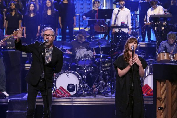 """Watch The National Bring """"Oblivions"""" To 'The Tonight Show'"""