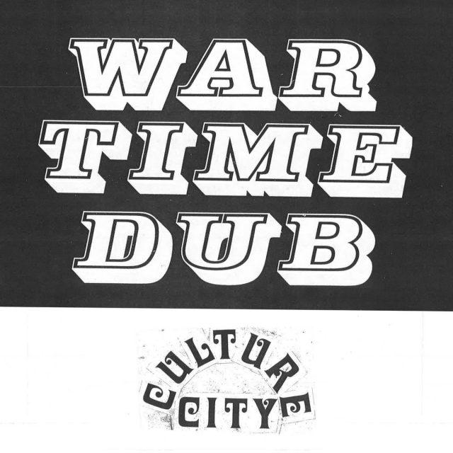 War Time Dub, Culture City