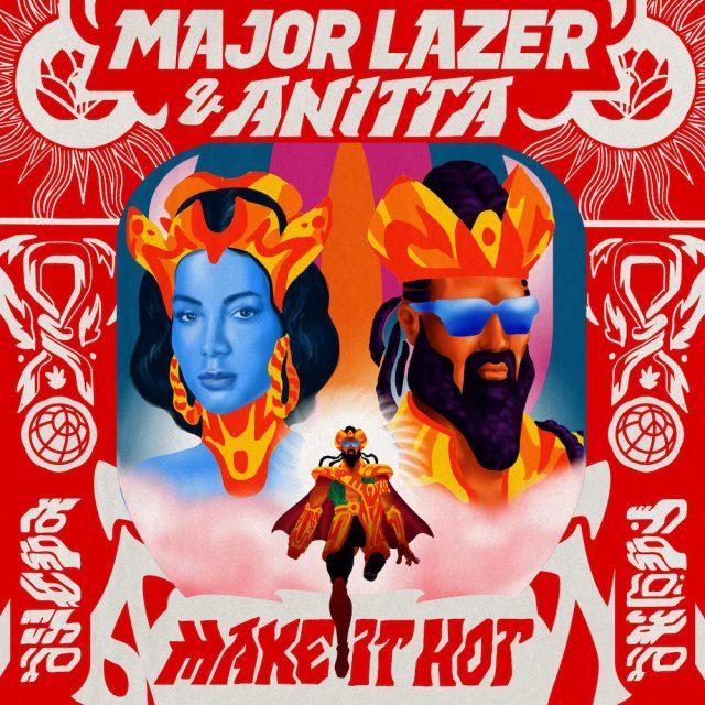 """Résultat de recherche d'images pour """"major lazer make it hot"""""""