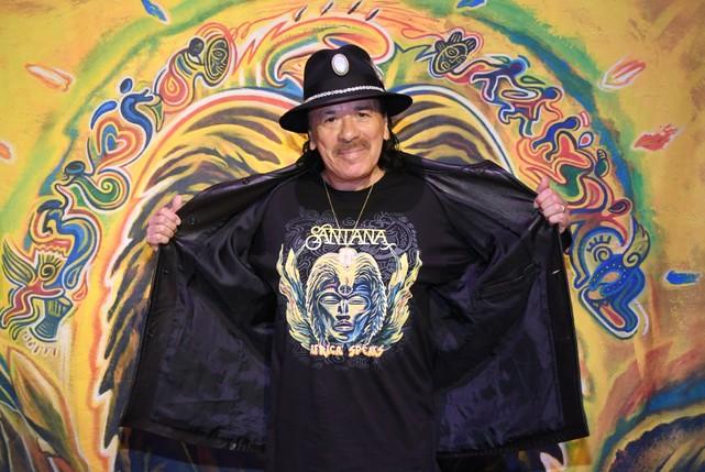 Carlos Santana Interview: 'Africa Speaks' And Beyond - Stereogum