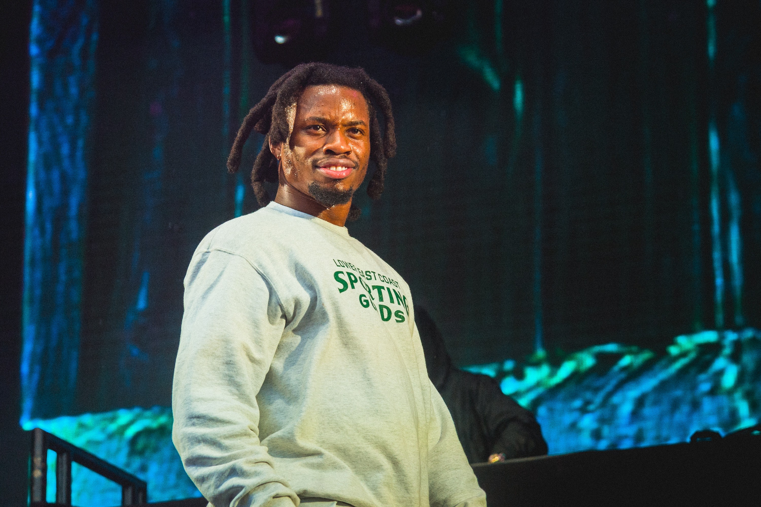 Denzel Curry Performs In A Wheelchair
