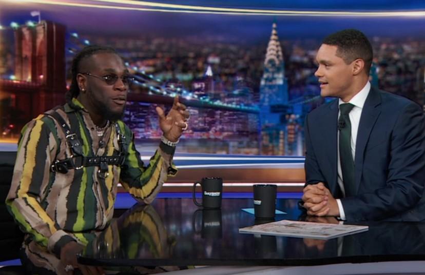 Burna Boy Performs 'African Giant' Songs & Talks Coachella