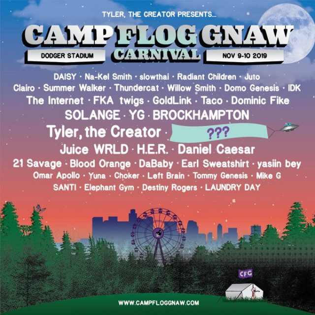 Camp Flog Gnaw Carnival 2019 Lineup