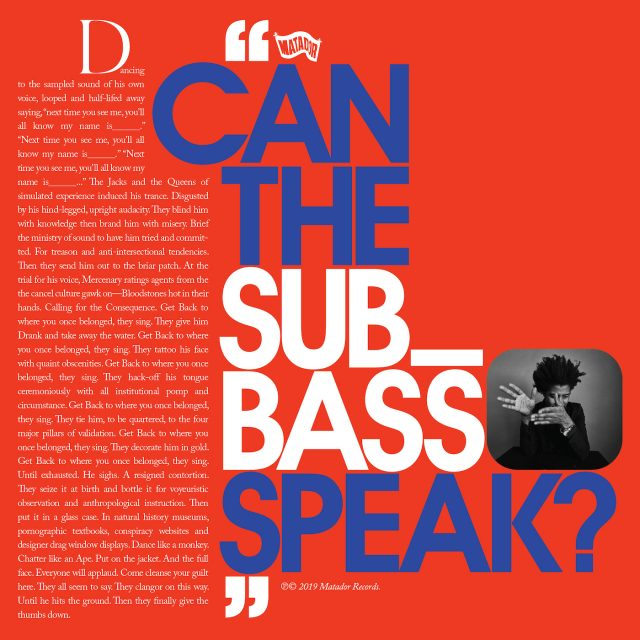 "Algiers - ""Can The Sub_Bass Speak?"""