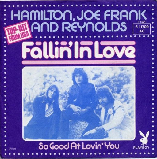"""The Number Ones: Hamilton, Joe Frank And Reynolds' """"Fallin' In Love"""""""