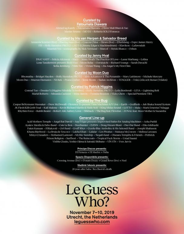 Le Guess Who? 2019 Adds Lightning Bolt, Holly Herndon, Efterklang, Mykki Blanco, & More