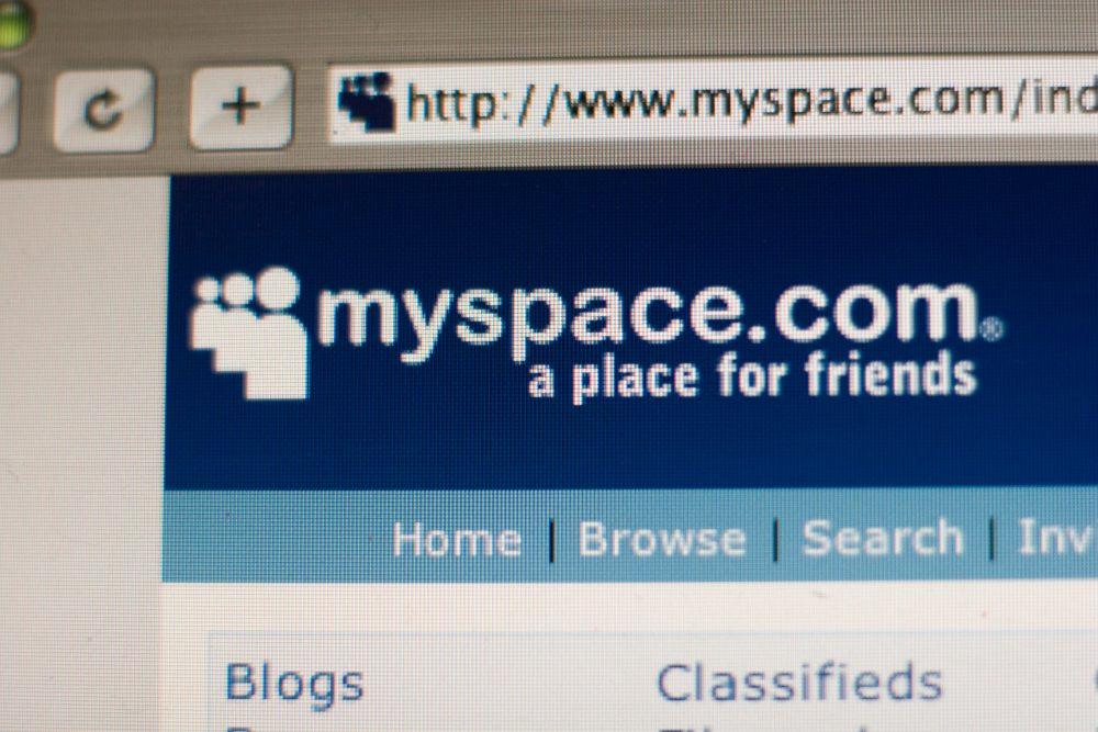 USA - Technology- MySpace Website