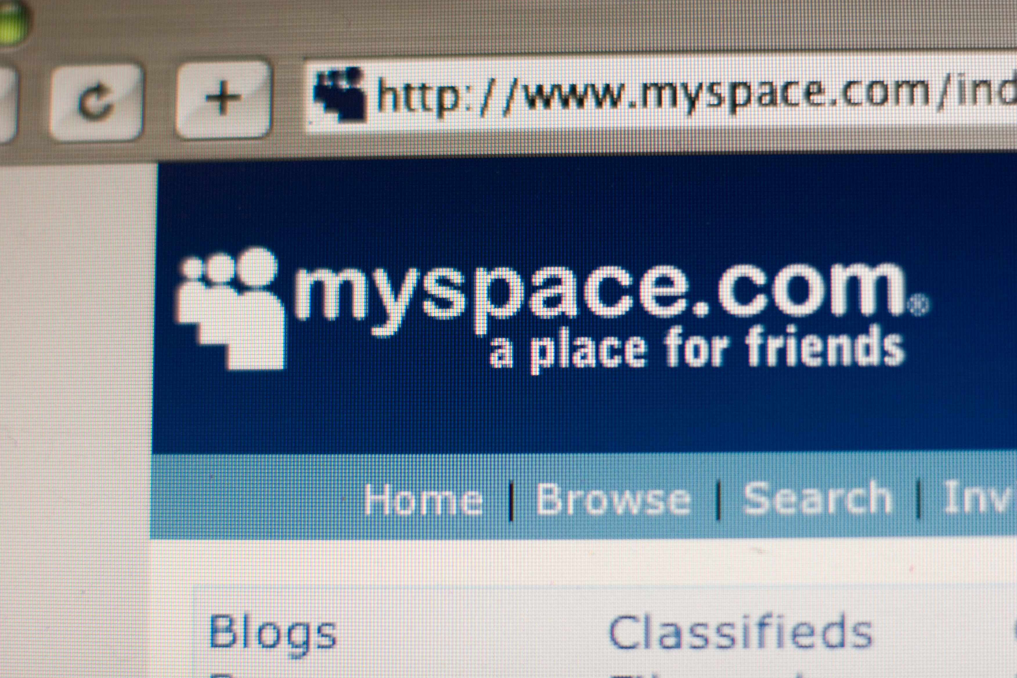 USA - Technology- MySpace Website