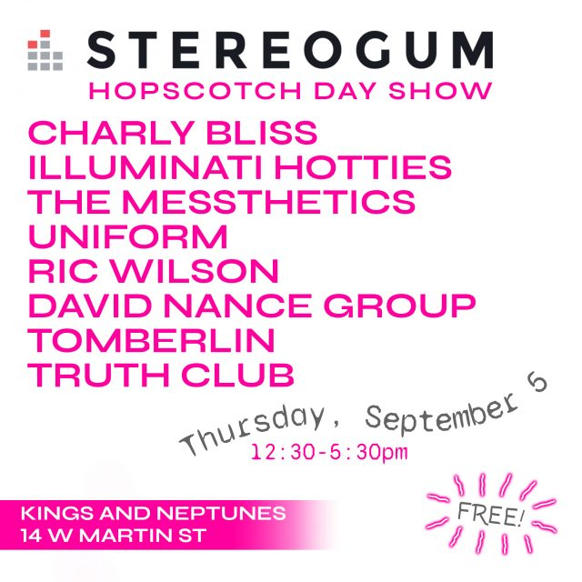 Hopscotch 2019 Stereogum Day Show